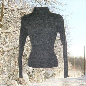 1990s vintage grunge turtleneck sweater size small